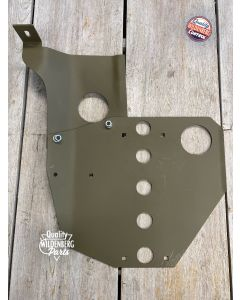 Skid plate set Willys MB