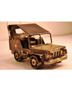 Miniature Jeep With Canvas