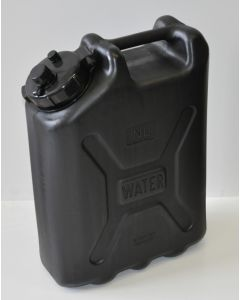 Water jerry can 20 liter BLACK